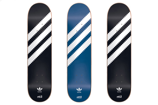 """Cliché x adidas Skateboarding """"Lucas Original"""" Skate Decks"""