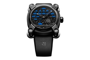 colette x Space Invaders x Romain Jerome Watch
