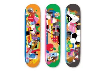 Craig & Karl for Enjoi Skate Decks