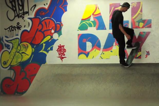 Da Playground x SUPRA Skateboard Video