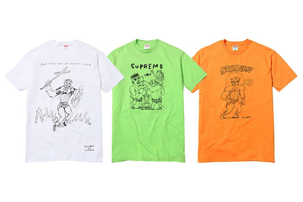Daniel Johnston x Supreme T-Shirt Capsule Collection
