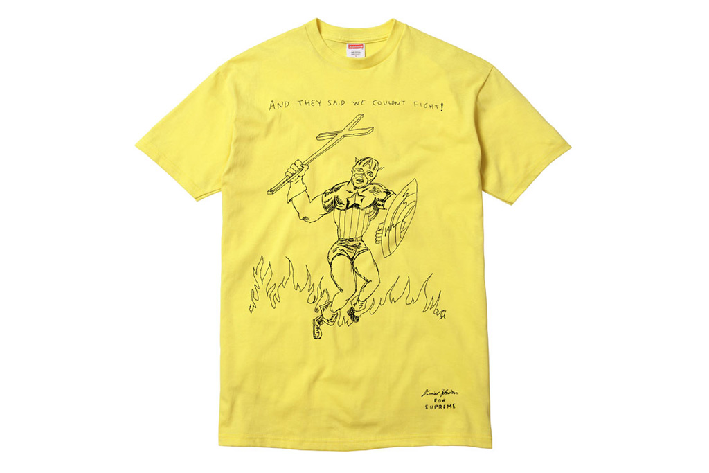 daniel johnston x supreme t shirt capsule collection