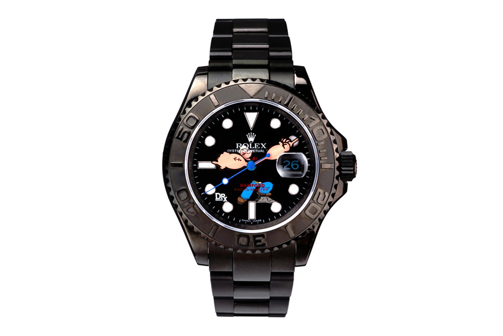 """Dr. Romanelli x Bamford Watch Department """"Popeye vs Beetle Bailey"""" Rolex Watches"""