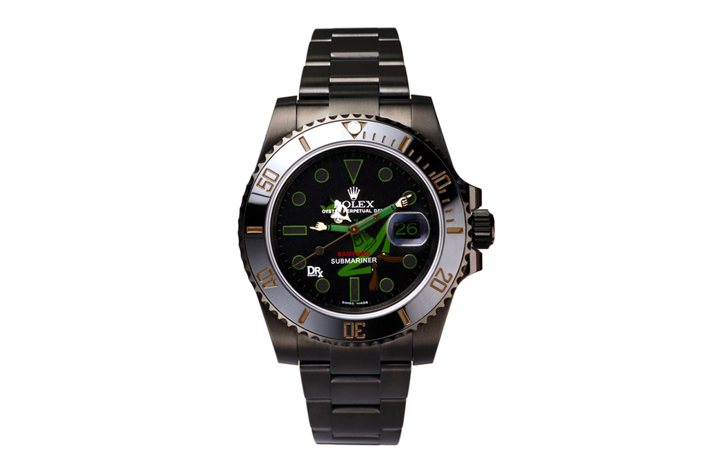 "Dr. Romanelli x Bamford Watch Department ""Popeye vs Beetle Bailey"" Rolex Watches"