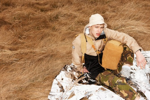 "EASTPAK by WOOD WOOD 2012 Summer ""Desertion"" Lookbook"