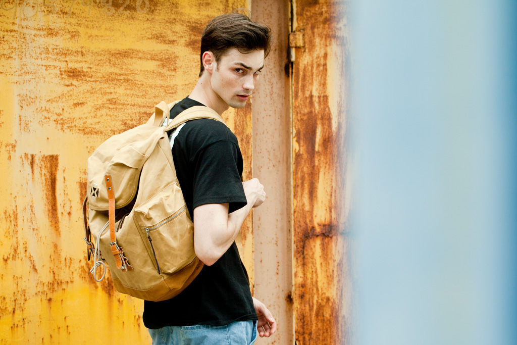 """EASTPAK by WOOD WOOD 2012 Summer """"Desertion"""" Collection"""