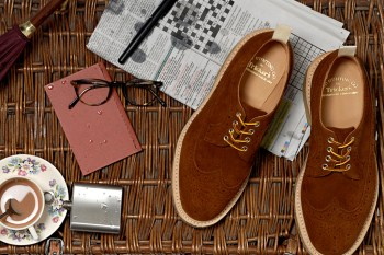 End Clothing x Tricker's Repello Longwing Brogue