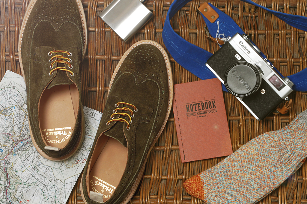 end clothing x trickers repello longwing brogue