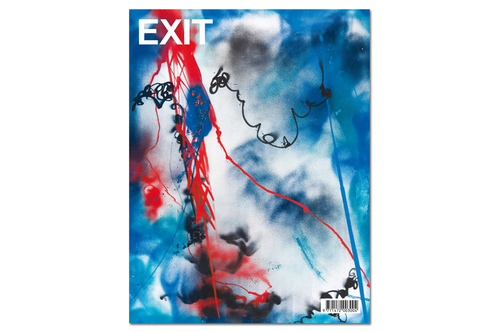 Futura 2000 Covers the EXIT Magazine 2012 Spring/Summer Issue
