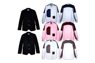 eYe COMME des GARCONS JUNYA WATANABE MAN x Brooks Brothers Shirt and Blazer Collection