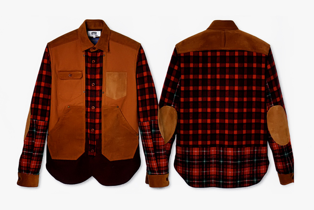 eYe COMME des GARCONS JUNYA WATANABE MAN x Pendleton Logger Shirt