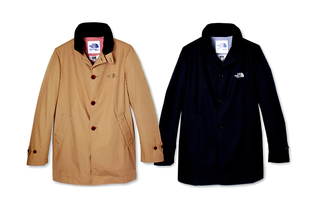 eYe COMME des GARCONS JUNYA WATANABE MAN x The North Face Outerwear Capsule Collection