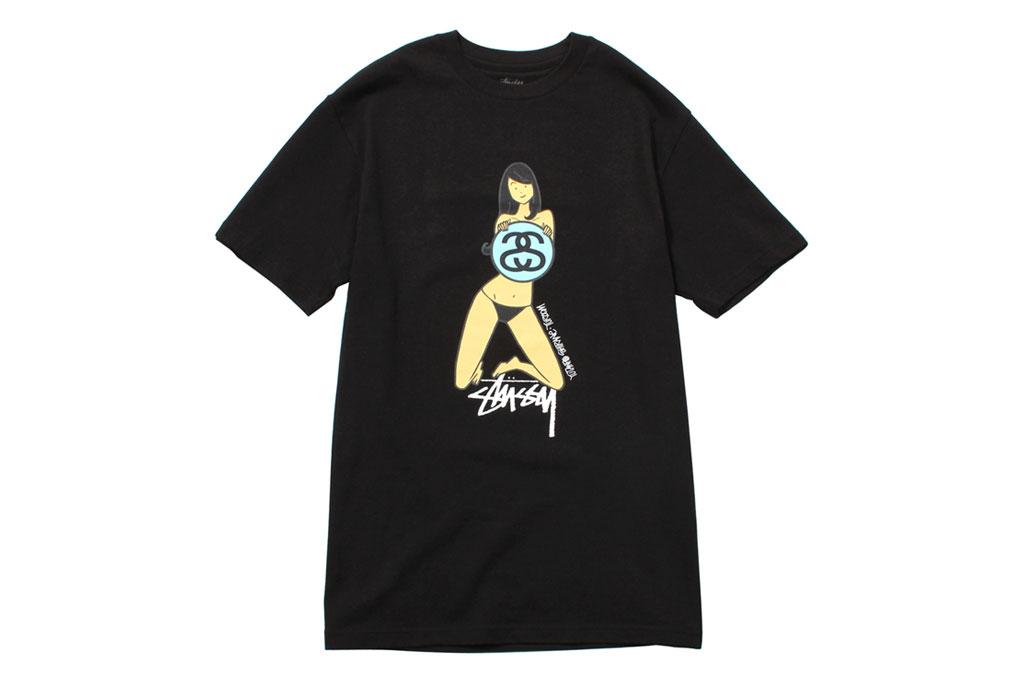 """EYESCREAM x Stussy """"I SCREAM FOR TOKYO"""" T-Shirts"""