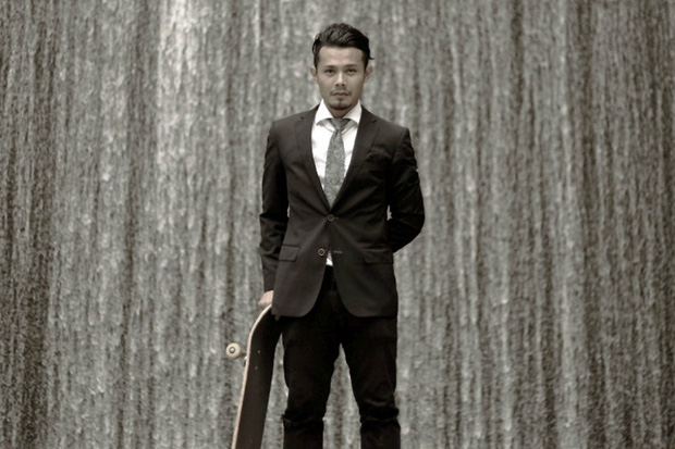 Firdaus Samsudin Suits Up for The Urban Playground Skatorialist Video