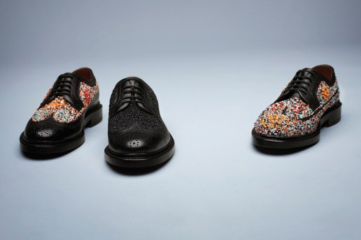 Florsheim by Duckie Brown 2012 Fall/Winter Beaded Brogue Shoe