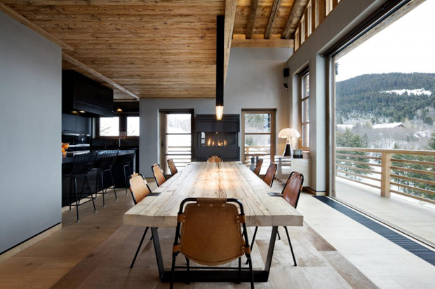 french alps mountain cabin chalet cyanella by bo design