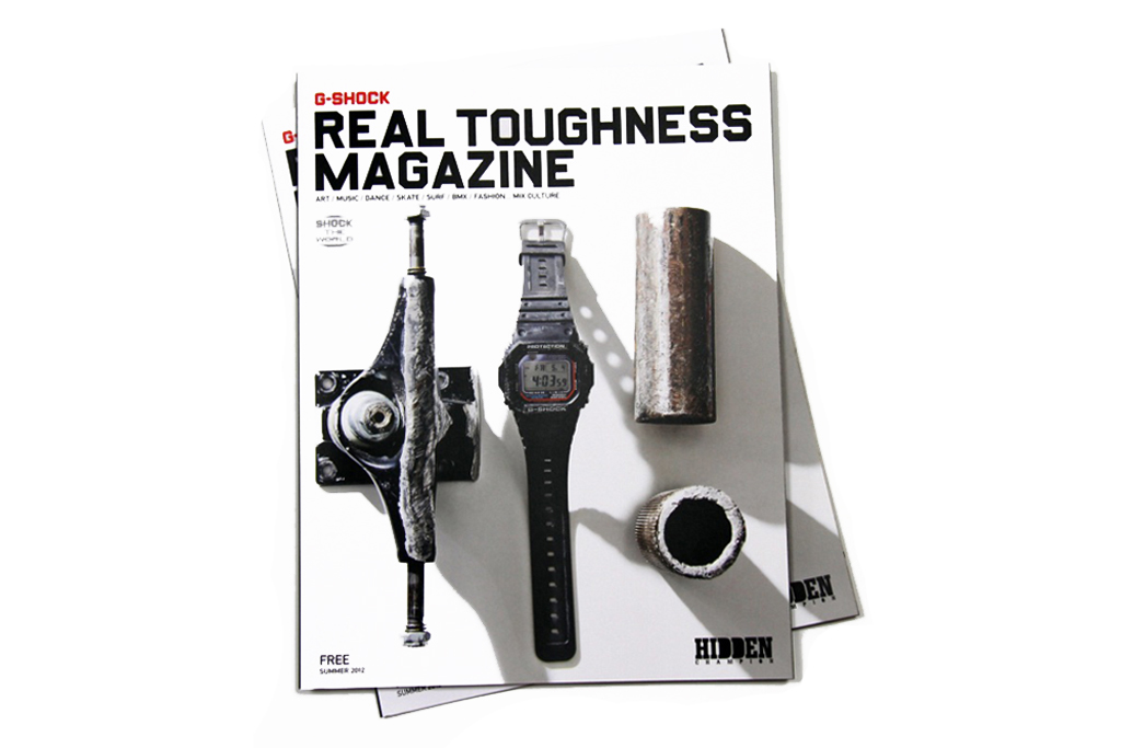 """G-Shock x Hidden Champion """" REAL TOUGHNESS"""" Issue"""
