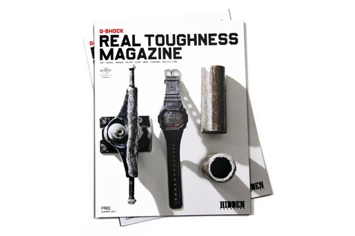 "G-Shock x Hidden Champion "" REAL TOUGHNESS"" Issue"