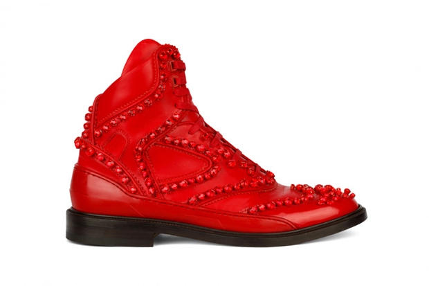 Givenchy 2012 Fall Hightop Hybrid Shoe