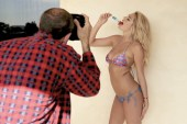 Behind-the-Scenes at Kate Upton's GQ Cover Shoot with Terry Richardson