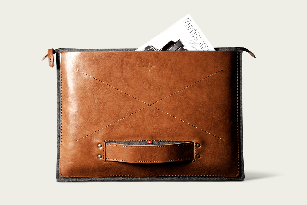 hard graft grab laptop folio heritage