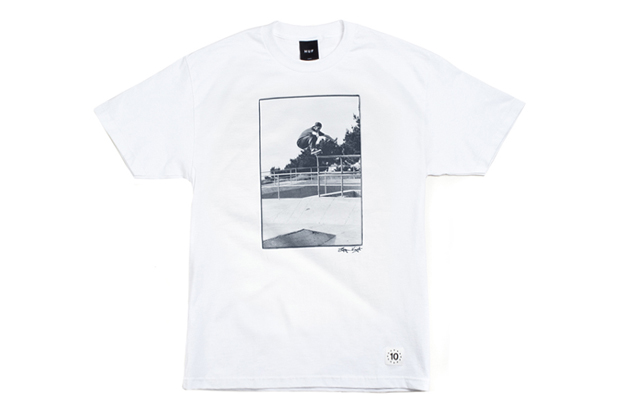 Bryce Kanights x HUF 10th Anniversary T-shirt