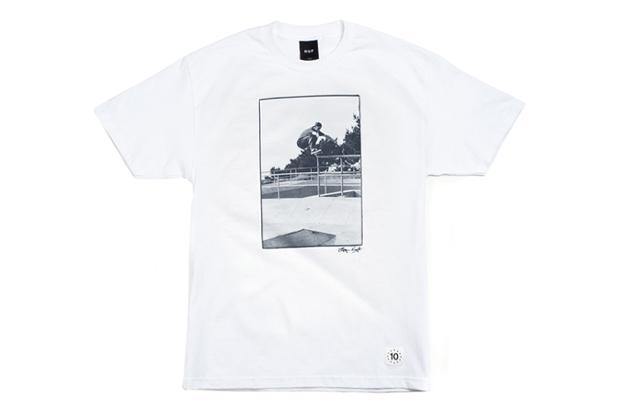 bryce kanights x huf 10th anniversary t shirt