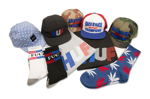 "HUF 2012 ""Red White & Blue"" Pack"