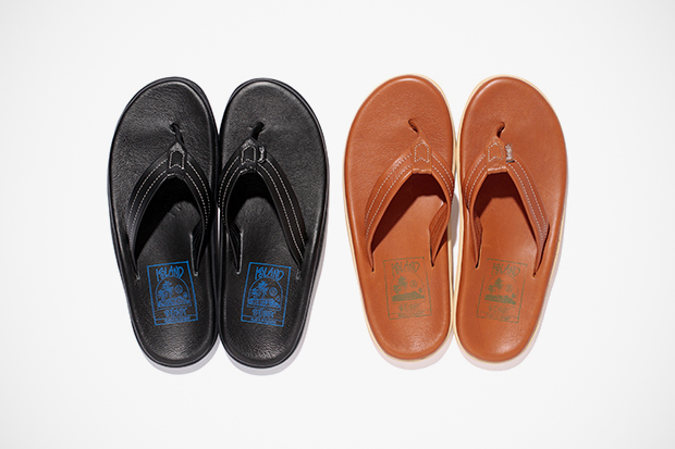 Stussy x Island Slipper 2012 Leather Sandal