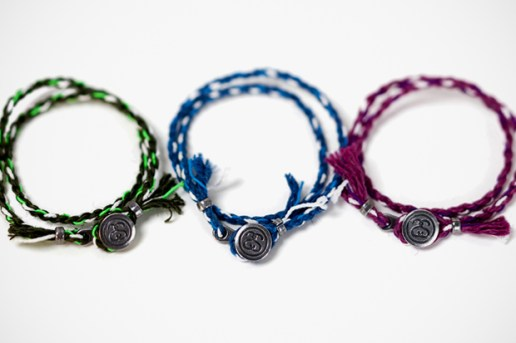 Stussy × JAM HOME MADE Rope Bracelet