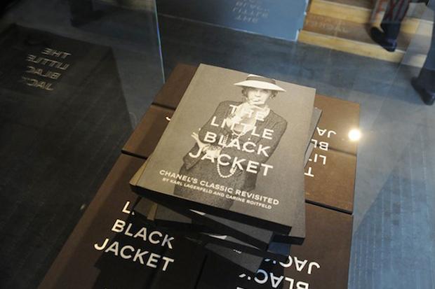 Karl Lagerfeld and Carine Roitfeld Chanel's 'Little Black Jacket' Book