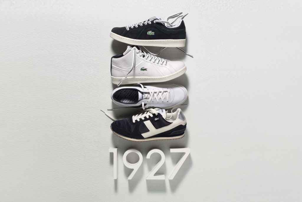 """Lacoste Spring/Summer 2012 """"1927 Tribute"""" Collection"""