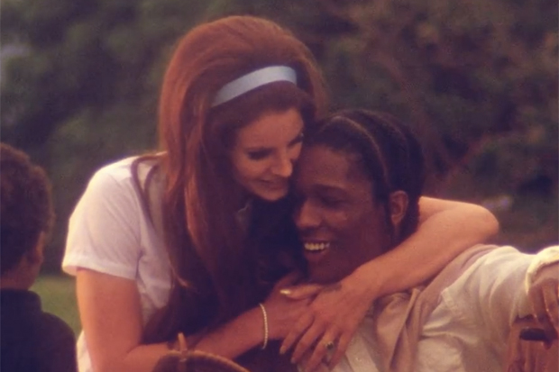 Lana Del Rey featuring A$AP Rocky - National Anthem | Video