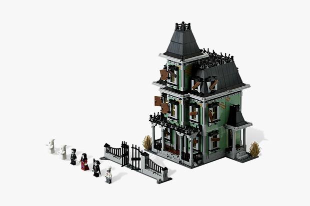 lego 2012 haunted house