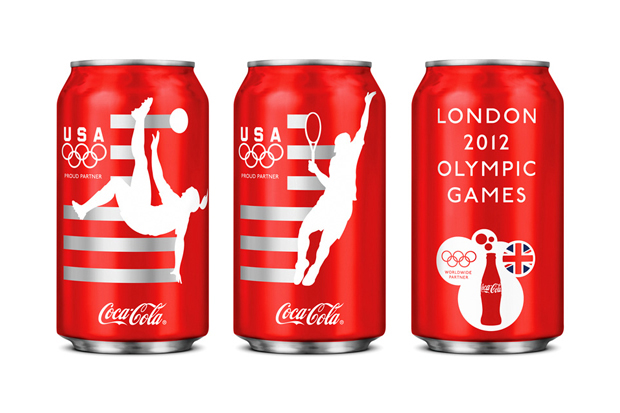 Limited Edition Team USA Coca-Cola Design by Turner Duckworth