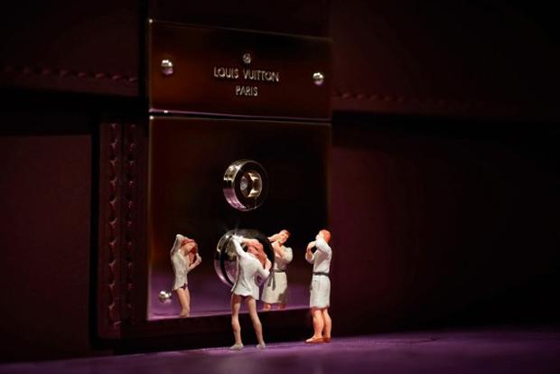 Little People Invade Louis Vuitton