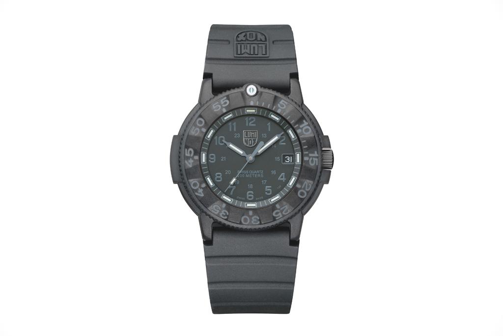Luminox Navy SEAL Blackout 3001 Watch