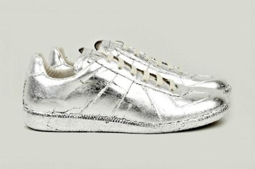 Maison Martin Margiela Silver Foil Replica Sneakers