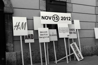 Maison Martin Margiela x H&M 2012 Fall/Winter Collection Announcement