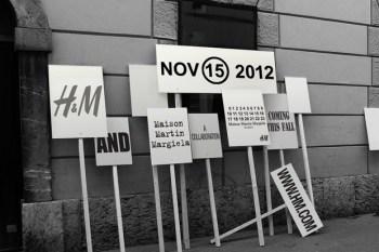 Maison Martin Margiela x H&M 2012 Fall/Winter Collection Announcement