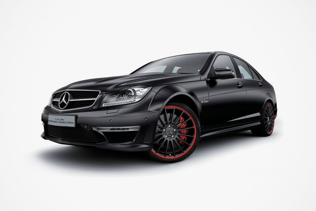 Mercedes-Benz C63 AMG Japan Exclusive Performance Studio Edition
