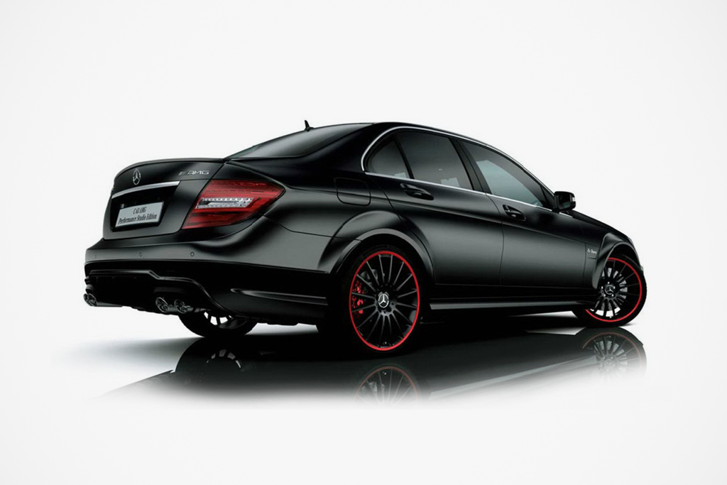 mercedes benz c63 amg japan exclusive performance studio edition