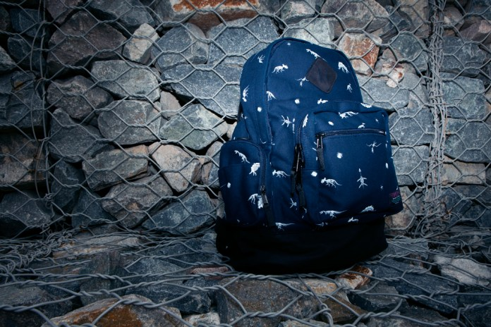 "Mishka ""The Jurassic Knapsack"" Backpack in Dark Navy"