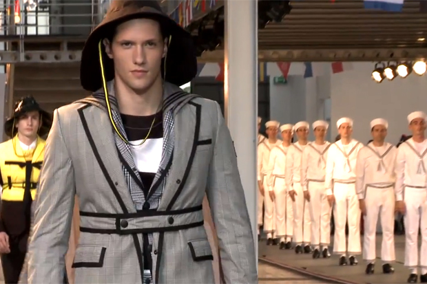 Moncler Gamme Bleu 2013 Spring/Summer Collection Video
