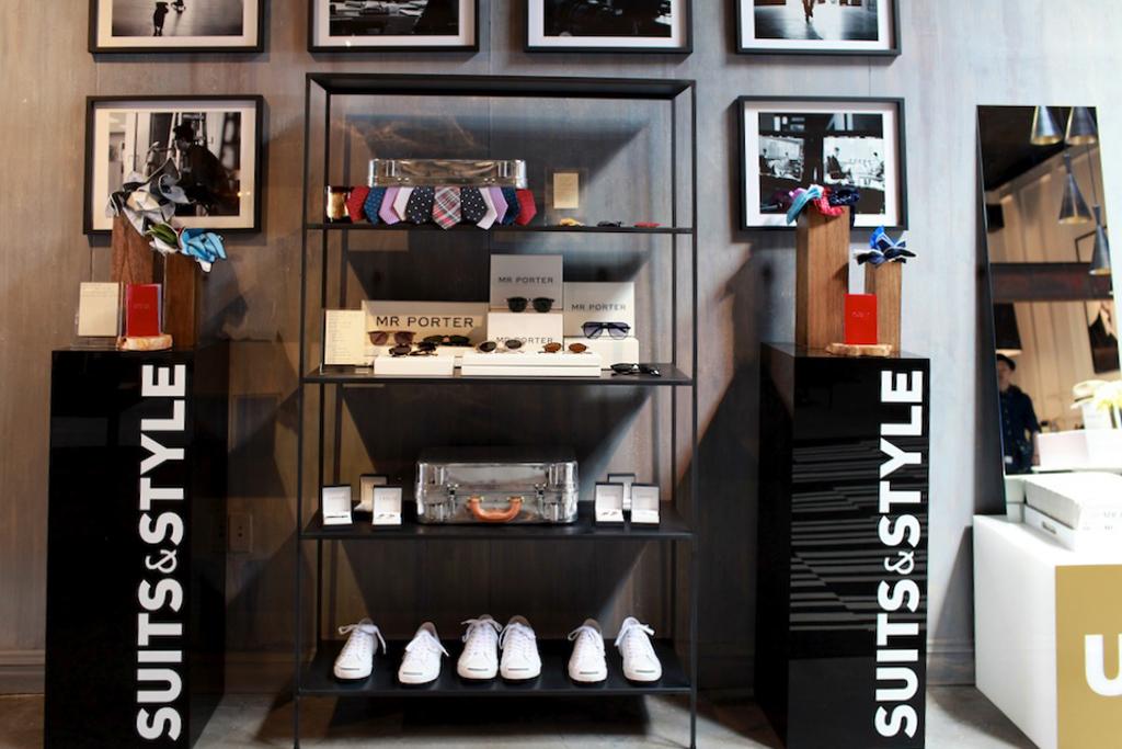 MR PORTER NYC Pop-Up Store