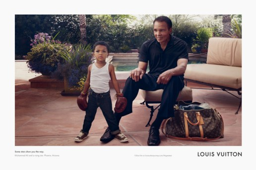 "Muhammad Ali for Louis Vuitton ""Core Values"" Campaign"