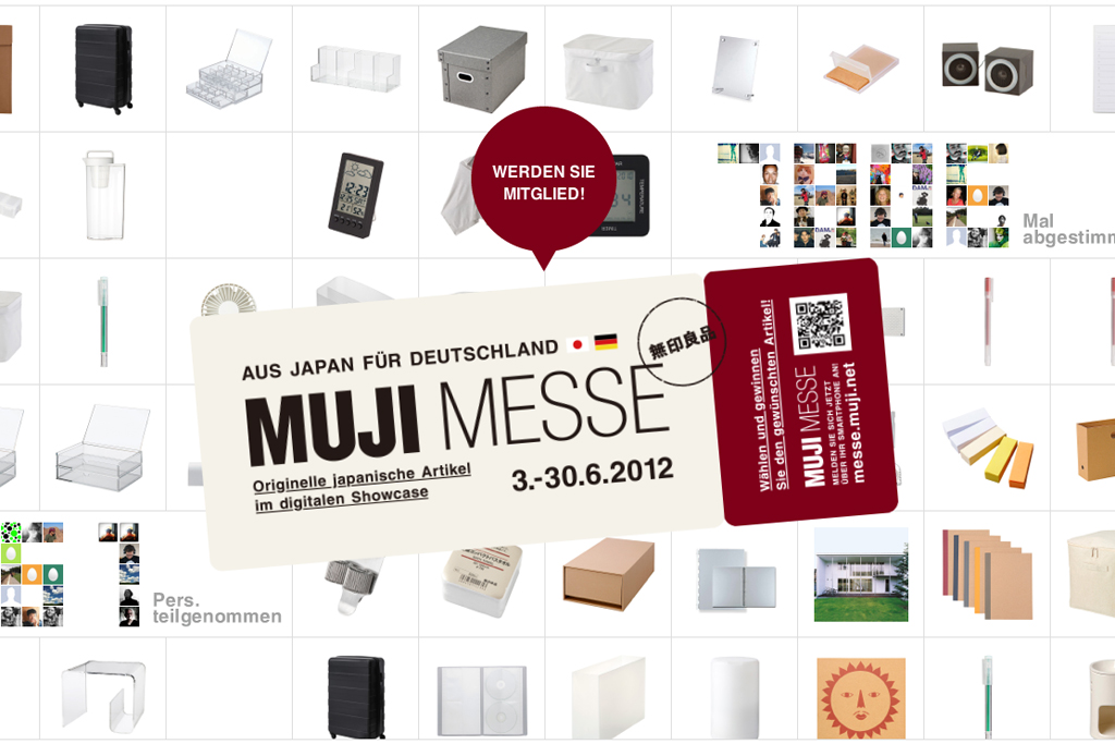 "MUJI Holding ""MUJI MESSE"" Online Trade Fair"