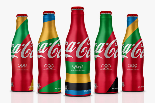 MWM Graphics x ATTIK 2012 London Olympics Coca-Cola Branding