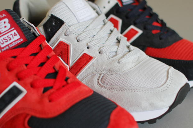 """Concepts x New Balance 574 """"Fourth of July"""" Pack"""