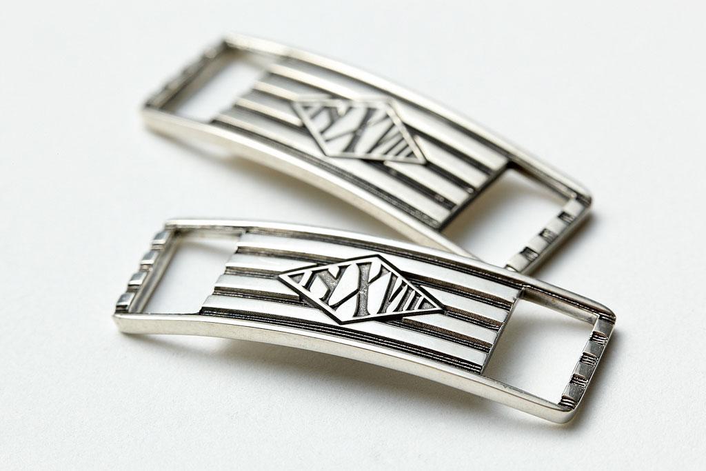 NEXUSVII x Kubizm Silver Lace Plates